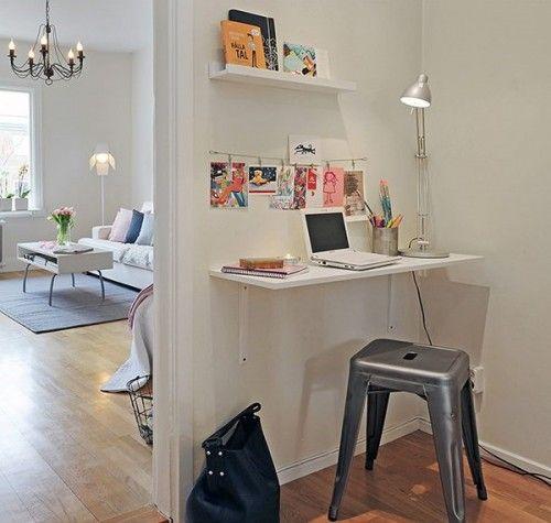 Come arredare uno spazio di lavoro a casa, home office, piccoli spazi