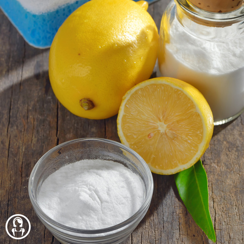 5 ingredienti naturali di pulizia, limone