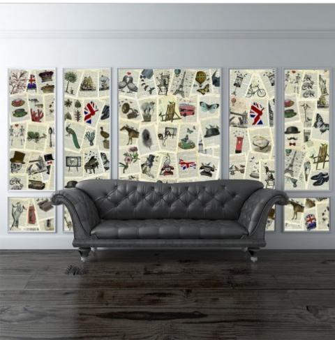 stickers da parete personalizzati