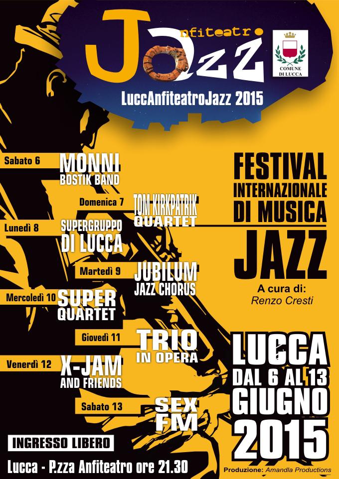 Lucca: Anfiteatro Jazz 2015