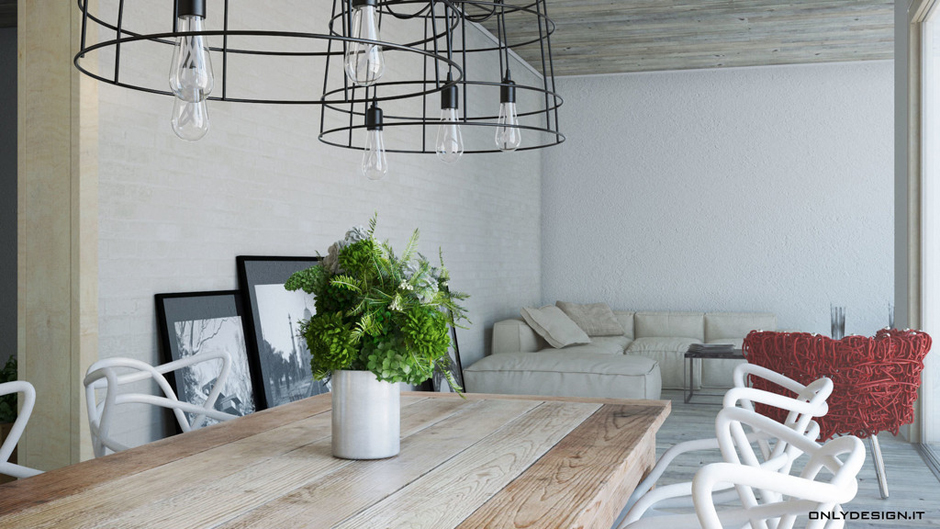 Homify idee per arredare la sala da pranzo - Quadri per sala da pranzo ...