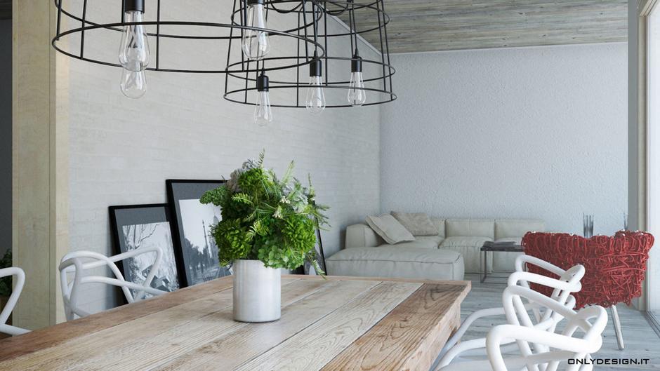 Homify idee per arredare la sala da pranzo - Sala da pranzo design ...