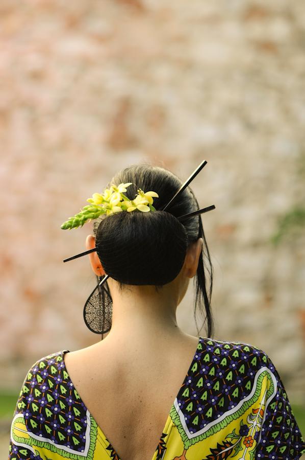cosa indossare per un matrimonio in estate, Japanese Style, Sandra Bacci