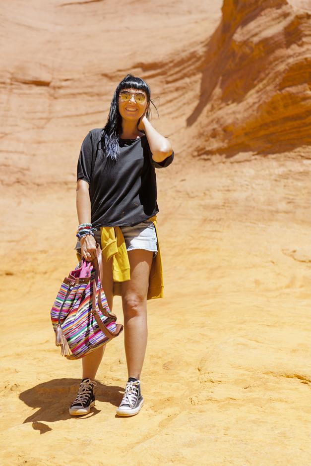 Provenza - Terra di contrasti - Le Ocre di Roussillon, Sandra Bacci, Kyme sunglassess
