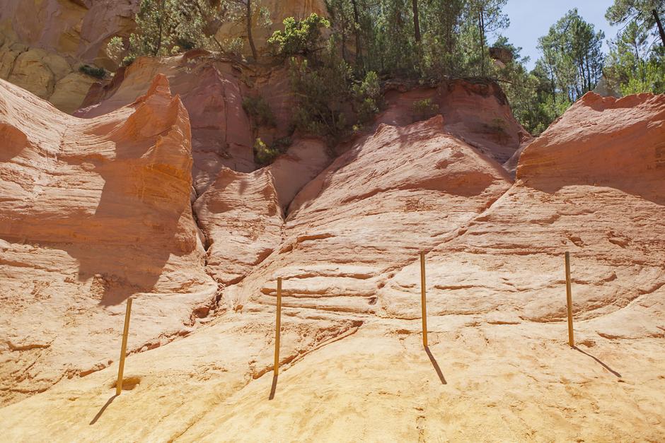 Provenza - Terra di contrasti - Le Ocre di Roussillon