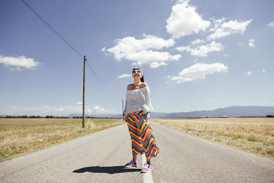 Provenza, altopiano di Valensole, Sandra Bacci, kyme sunglasses