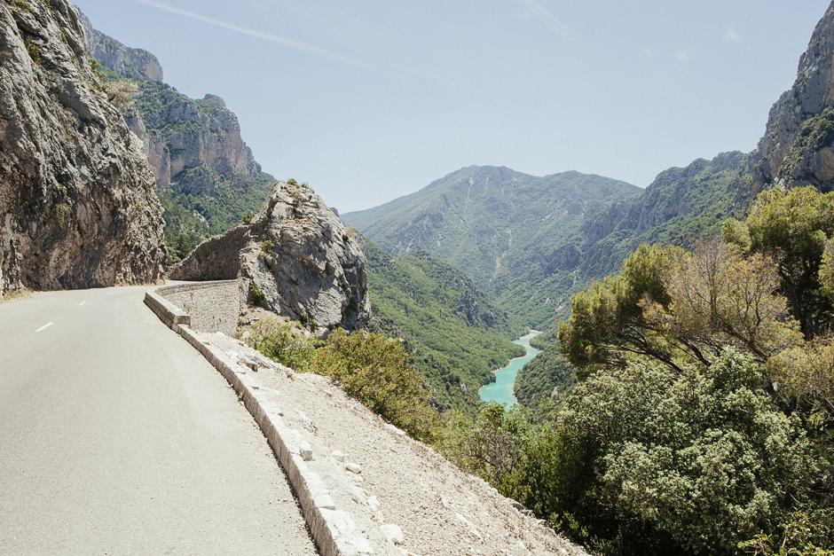 Provenza - Gole del Verdon , a due passi dalla felicità, percorso in auto
