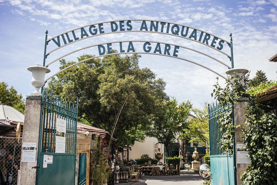 Provenza,  L' Isle sur la sorgue, villaggio antiquariato