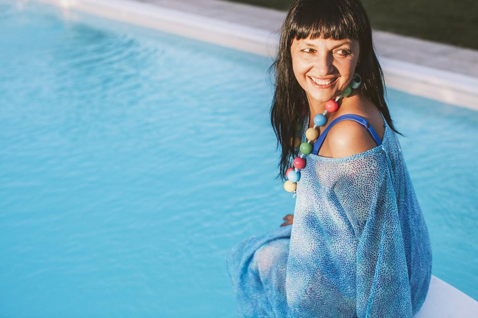 Sandra Bacci, kaftano triumph, smile,