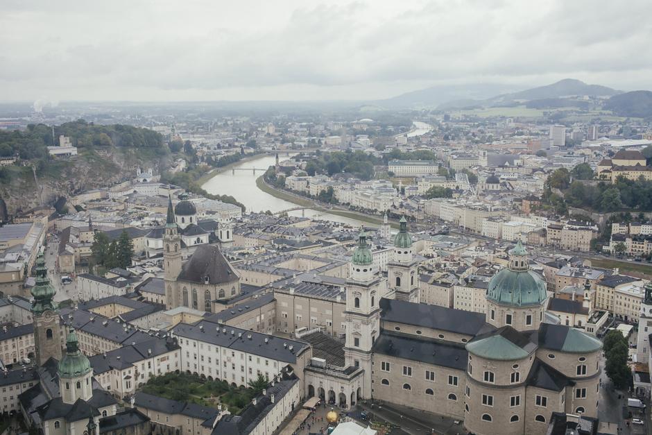 Salisburgo, veduta dal castello