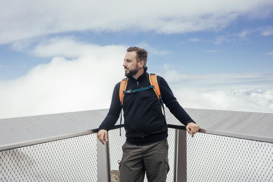 veduta dal ghiacciaio Kitzsteinhorn in Austria , 3029 m,  Giorgio Leone