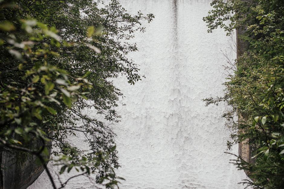 Cascate di Krimml, Austria, getto d'acqua