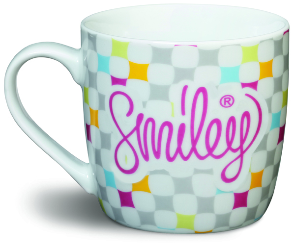 retro tazza, Smiley