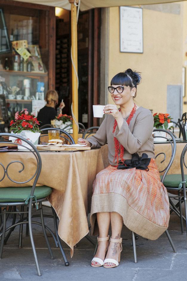 Sandra Bacci, datemi un caffè, Atelier Ricci,