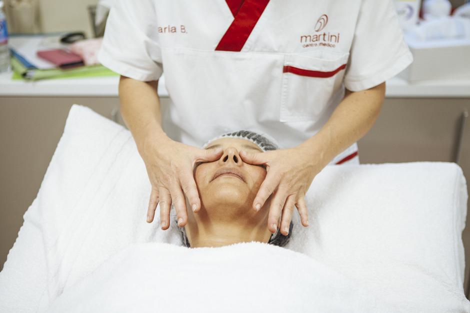 massaggio finale