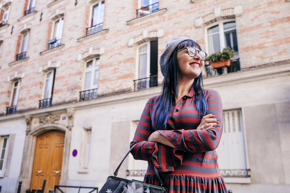 Parigi e la sindrome del camaleonte , Sandra Bacci, occhiali  da vista docfuture
