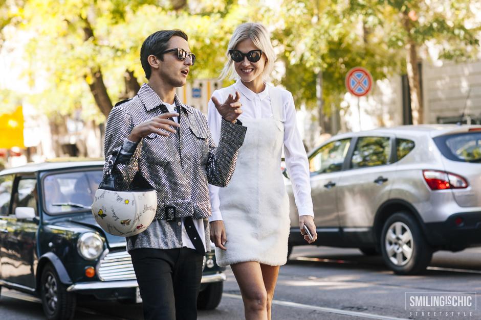 trend total white inverno 2016, Linda Tol, Milano
