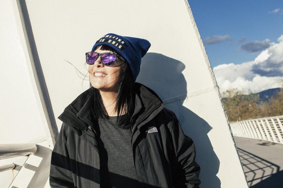 Smile, Sandra Bacci, cappello personalizzabile