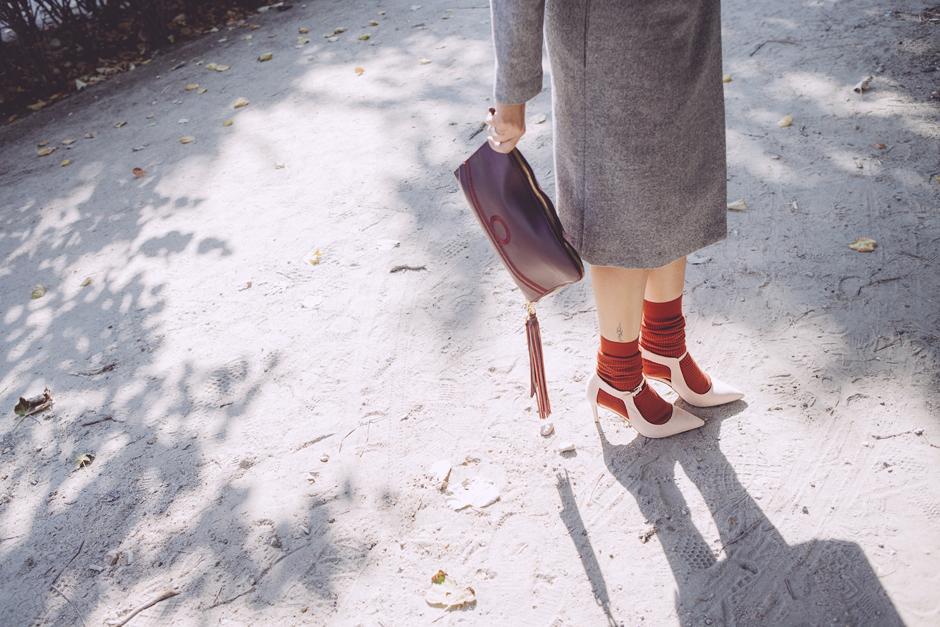 dettagli scarpe, clutch passion blanche