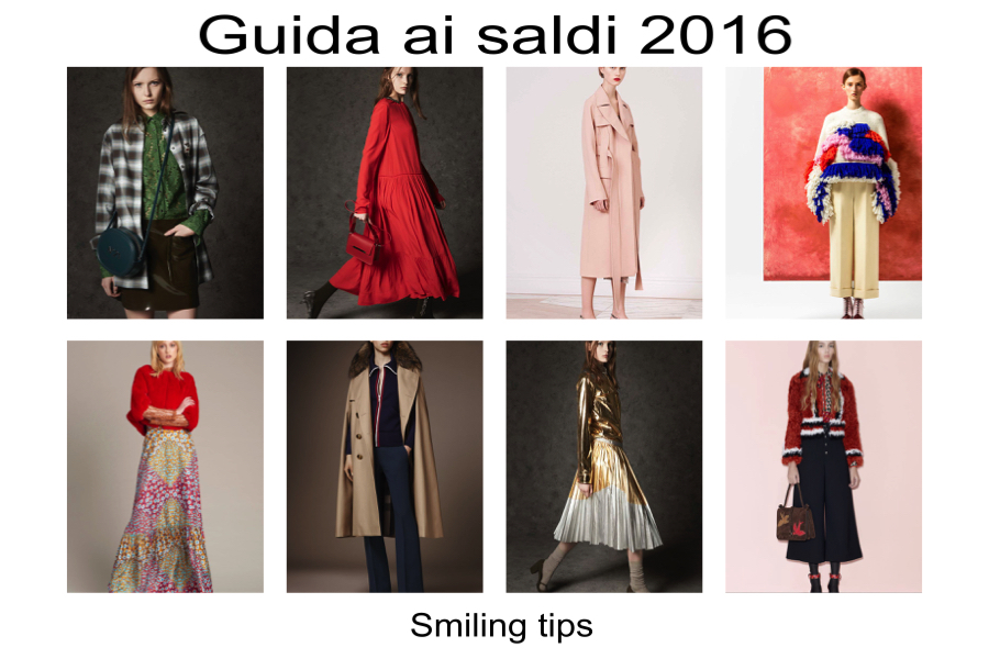 Saldi invernali 2016 cosa acquistare, Smilingischic, Smiling tips