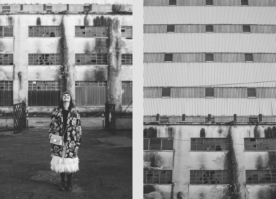 Mia Wish F/W 2015 2016, Sandra Bacci, foto in bianco e nero, Atelier Ricci