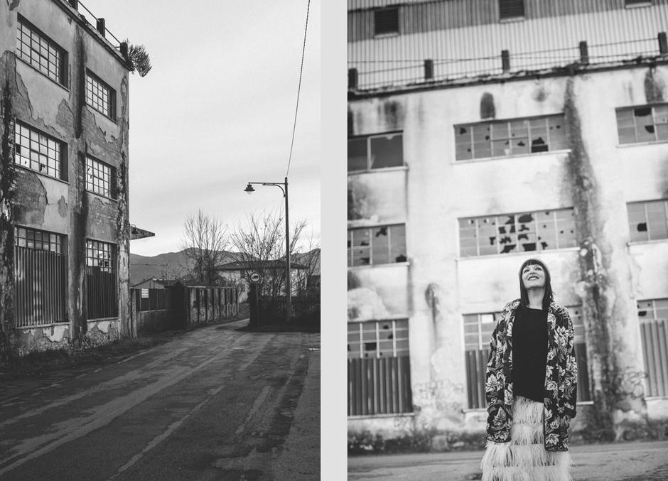 Mia Wish F/W 2015 2016, Sandra Bacci , bianco e nero