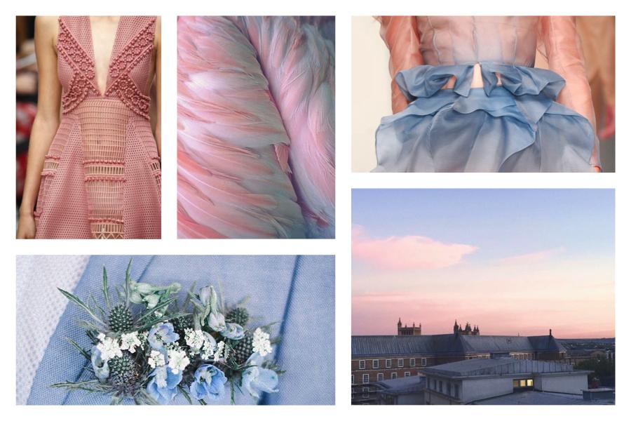 smilingischc, Azzurro Serenity e Rosa Quarzo