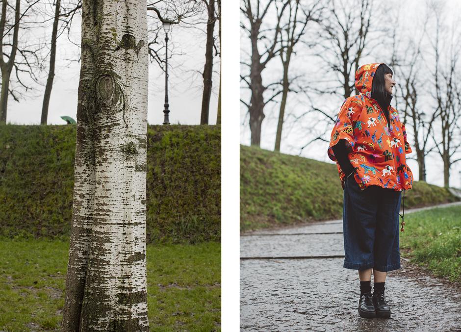 Smilingischic, cappa colorata anti pioggia, Giulia Rositani, P/E2016