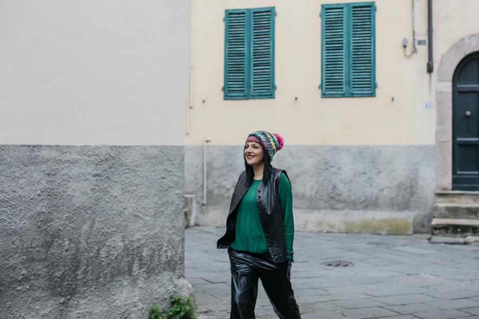 Sandra Bacci, Smilingischic, frangia colorata
