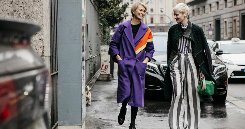 Street Style : Classica, chic, sofisticata, sé stessa.