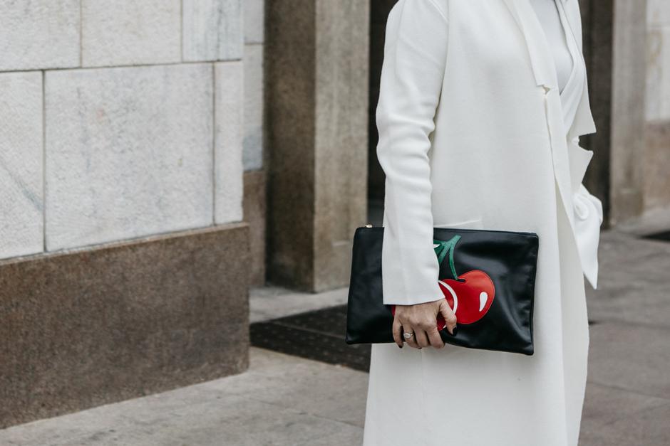 smilingischic, clutch Red Valentino, ciliegie