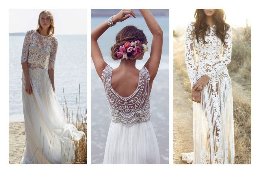 abiti da sposa in stile boho
