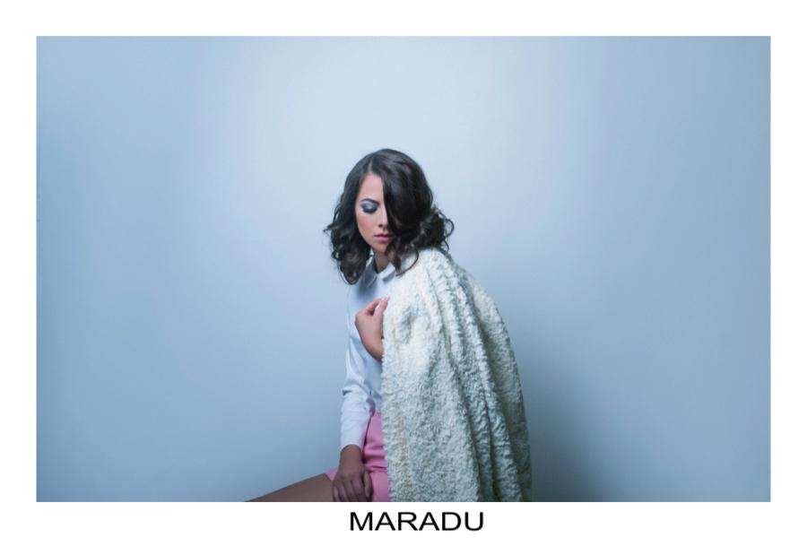 Immagini campagna Maradu, stilista emergente