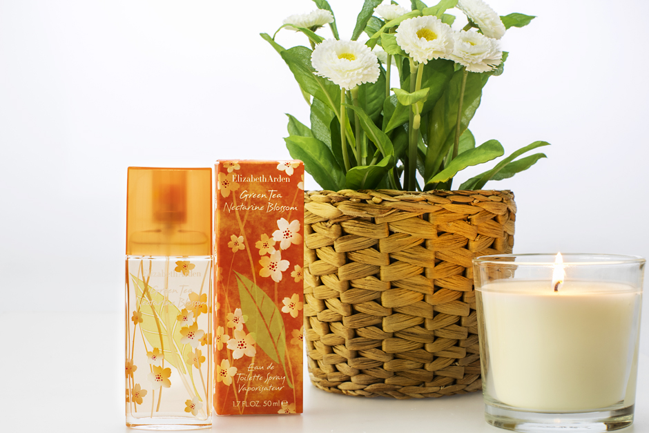 smilingischic, profumo per l'estate, Elizabeth Arden Green Tea Nectarine Blossom.