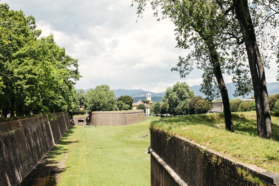 veduta dalle mura di Lucca