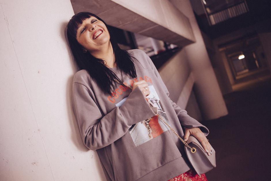 smilingischic, Sandra baci, ragazza che ride