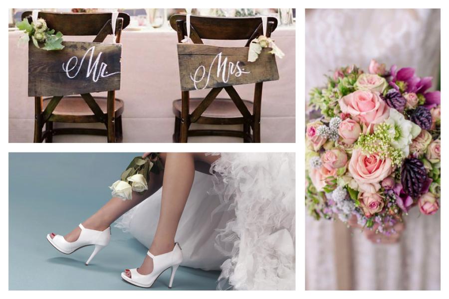 Le scarpe da sposa : come sceglierle