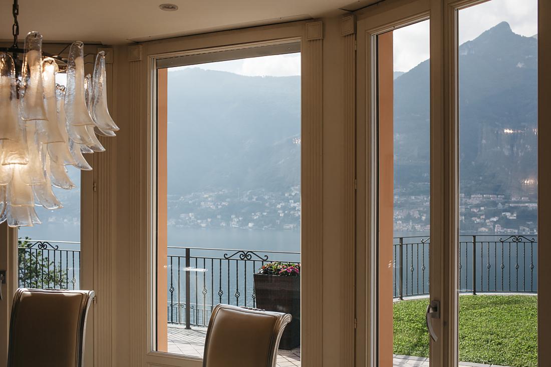 villa silver, lago di como, interni