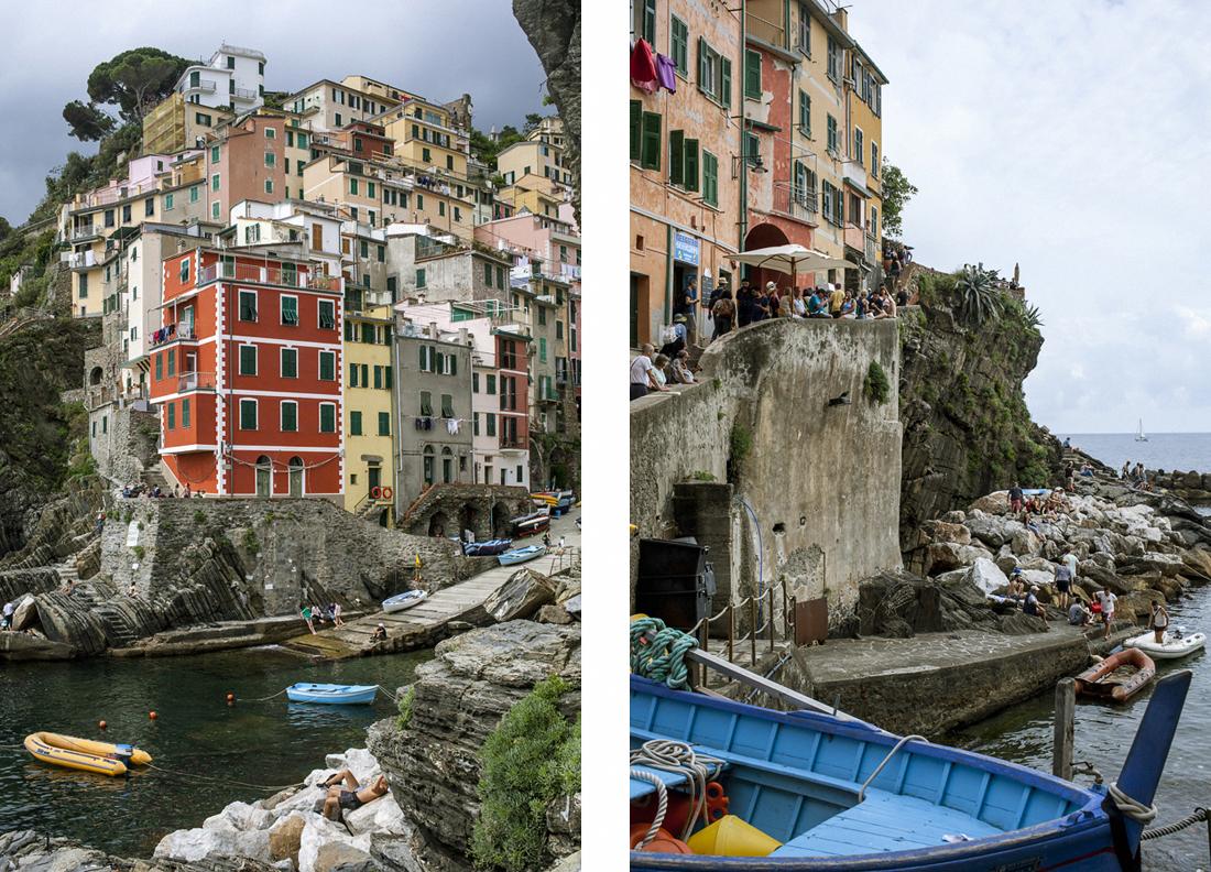 Le Cinque terre: cosa vedere in un weekend, Riomaggiore veduta