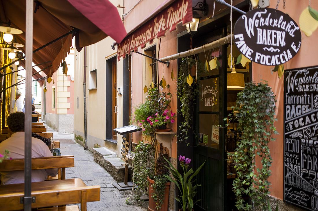 Le Cinque terre: cosa vedere in un weekend, Monterosso , Wonderland bakery