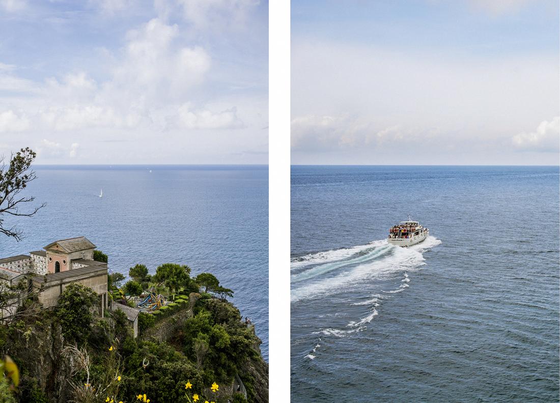 Le Cinque terre: cosa vedere in un weekend, Manarola, traghetto