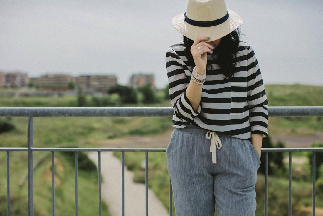 negozi pellizzari, abbigliamento per il tempo libero, come indossare le righe, outfit