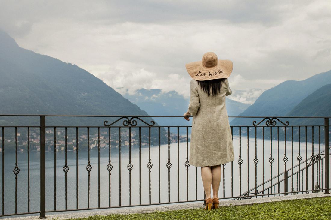 Cappello Asos I'm busy, Villa Silver, Lago di Como