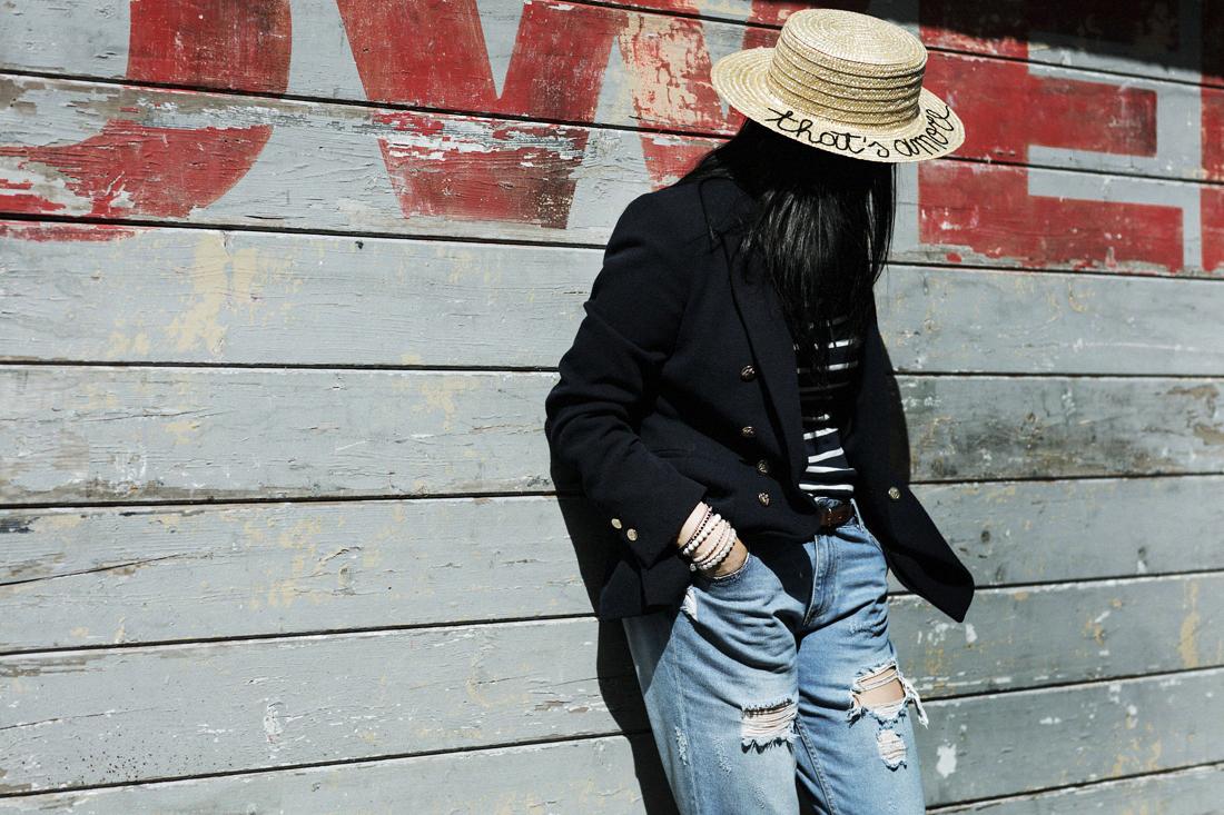 come-indossare-la-paglietta, Leontine Vintage