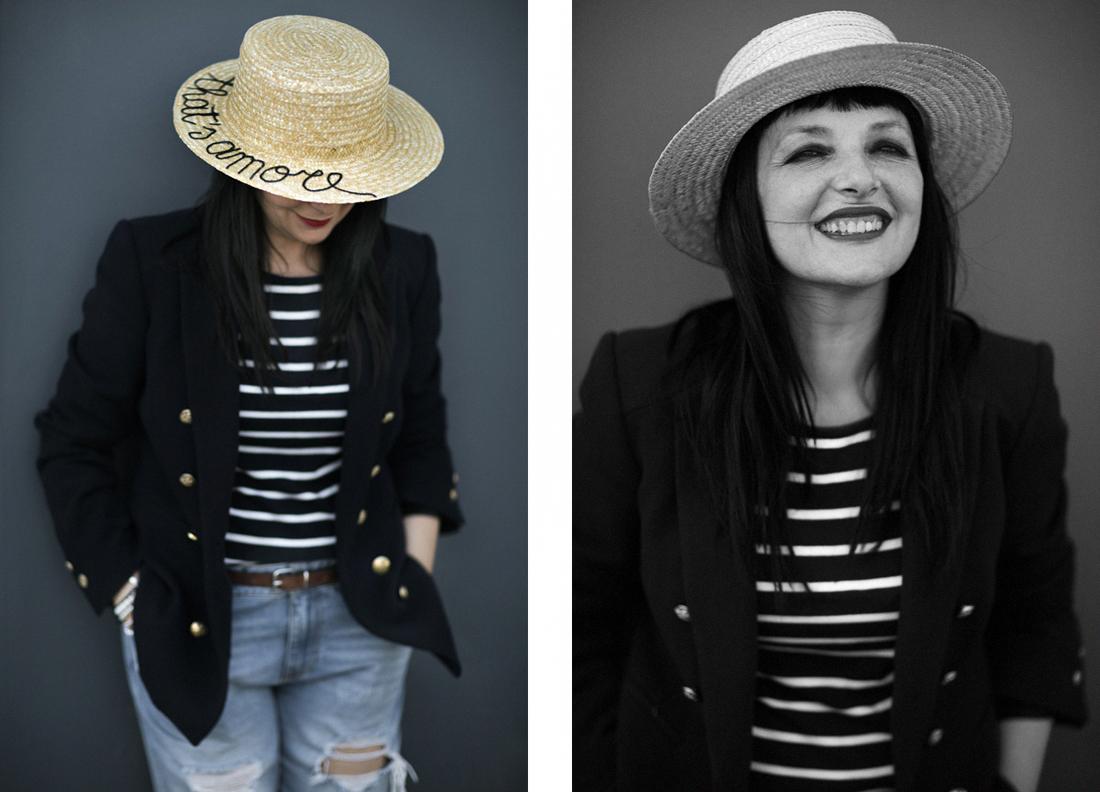 come-indossare-la-paglietta, Leontine Vintage , That's Amore, Sandra Bacci,