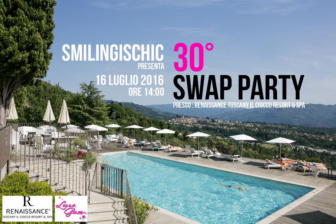 Renaissance Tuscany Il Ciocco Resort & Spa, il ciocco, Smilingischic, 30° swap party a Lucca