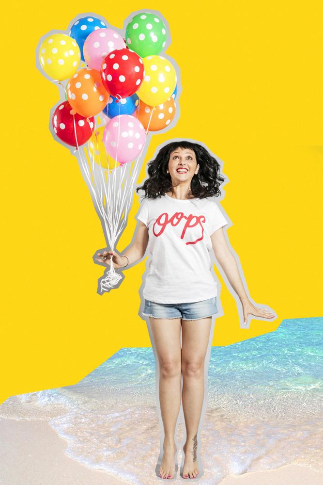 Sandra Bacci,Oops, Sandra Bacci, salto, Palloncinimix.com , La lista dei motivi per cui dovremmo festeggiare,