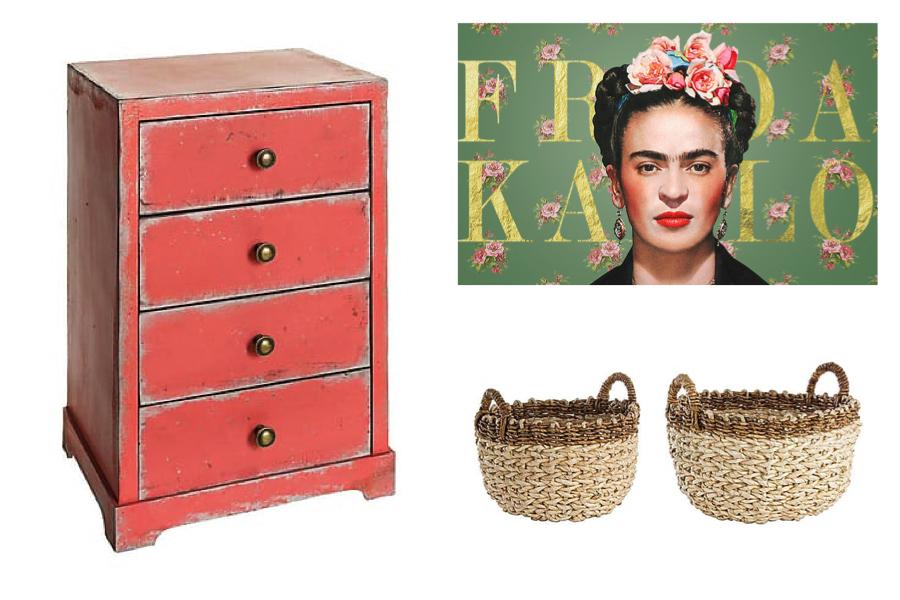 Ispirazione per una casa in stile Frida Kahlo , Dalani