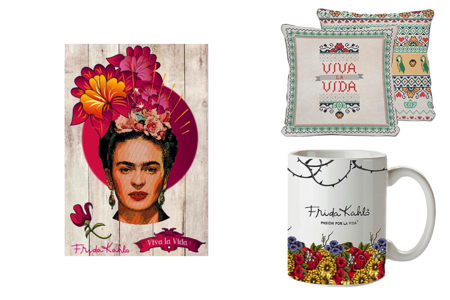 Ispirazione per una casa in stile Frida Kahlo , Dalani, tazza con frida