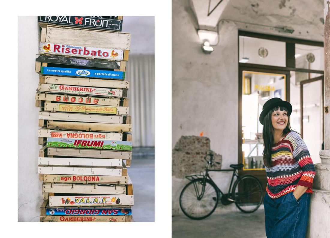 Desigual piazza del mercato Lucca, Sandra Bacci